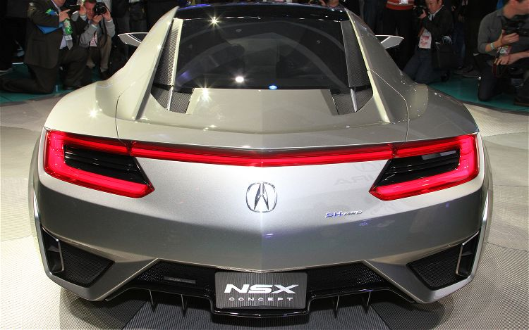 Detroit 2012 Acura Head Designer Ikedas 5 Favorites On The Nsx Concept