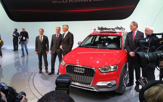 Detroit 2012 Audi Q3 Vail Concept Is Ready To Hit The Slopes