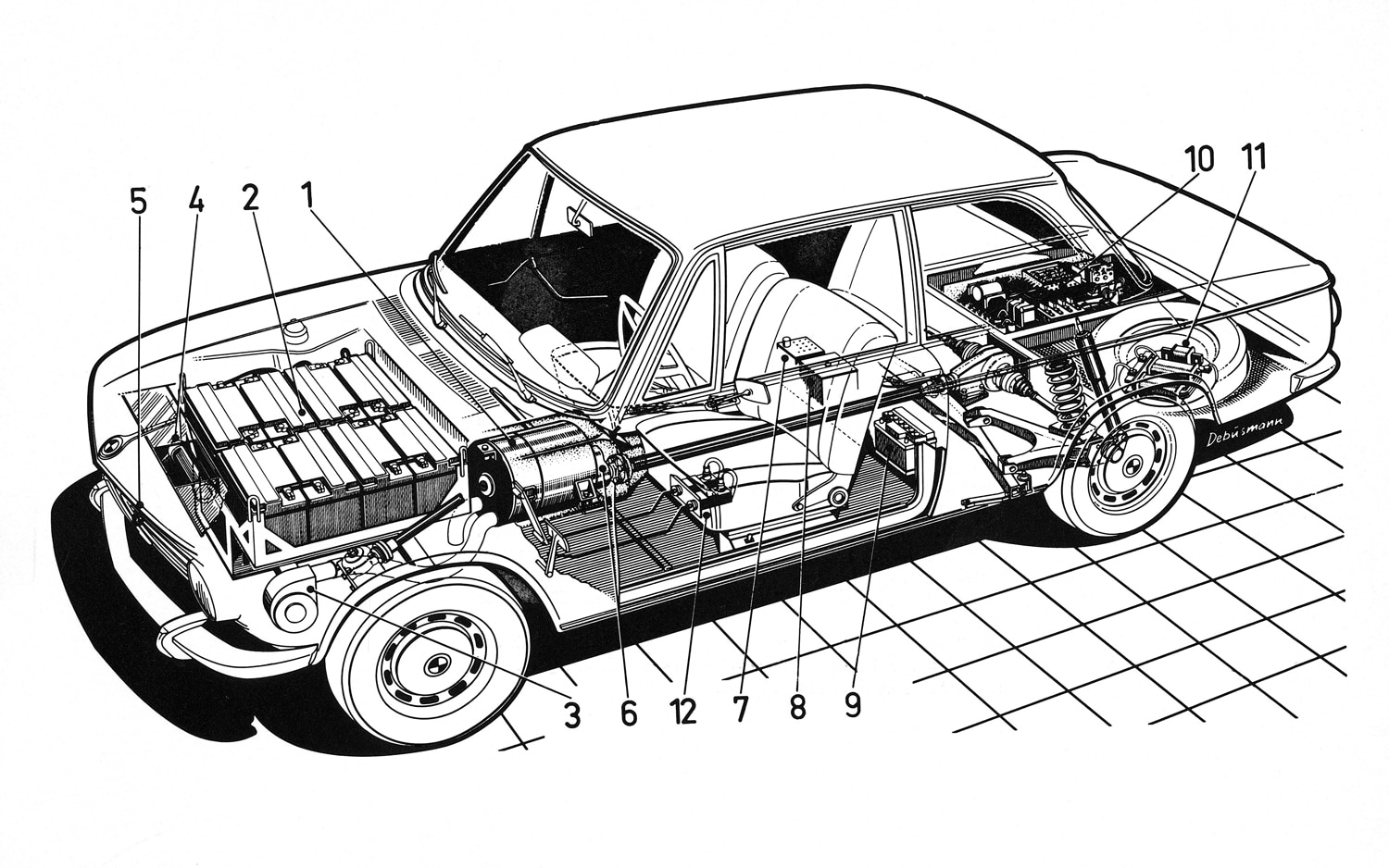 lease the future? bmw begins recruitment process for all electricBmw 1602 Electric Car Diagram Photo 2 #1
