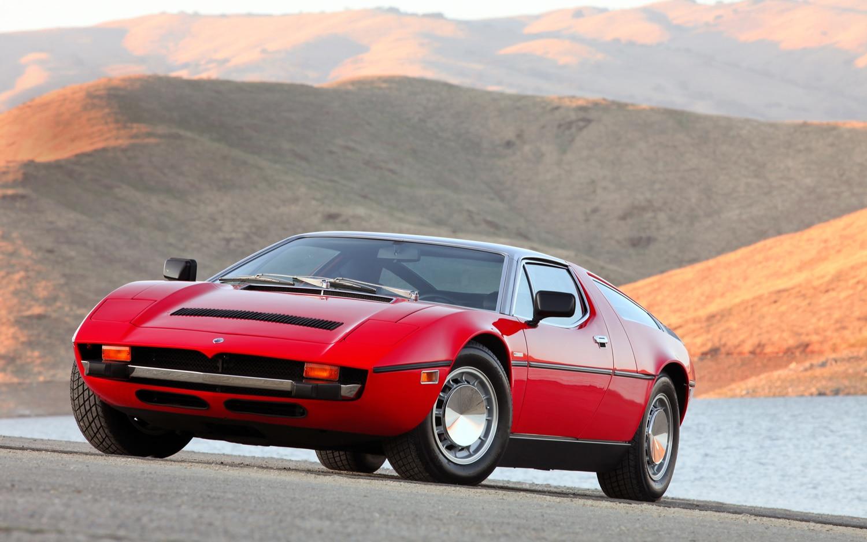 1971 1978 Maserati Bora Front Left View1