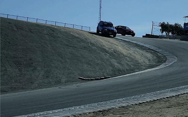 2012 BMW X5 M And M3 At Laguna Seca 21
