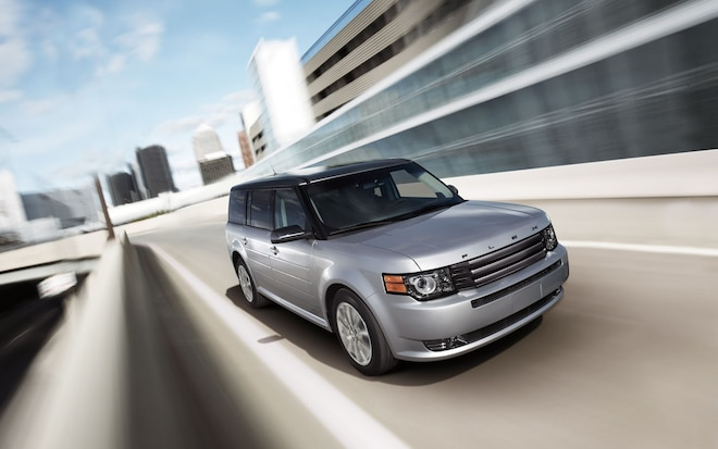 2012 Ford Flex Front Three Quarter1