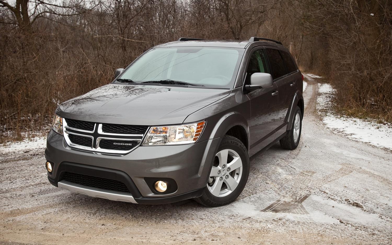 2012 Dodge Journey Sxt Editors Notebook Automobile