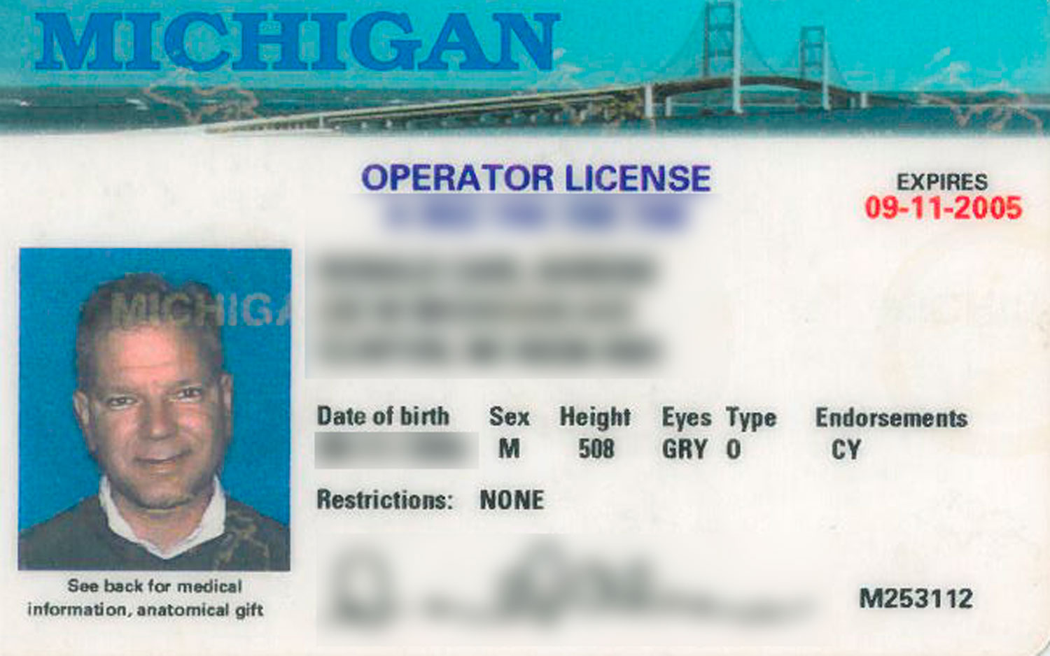 michigan drivers license renewal eye test