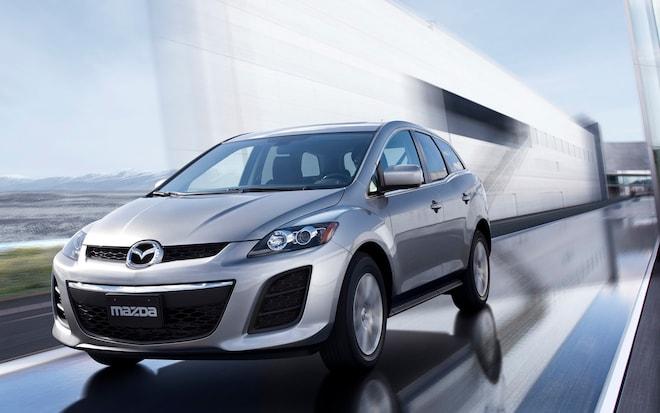 2012 Mazda CX 7 Front Three Quarter1