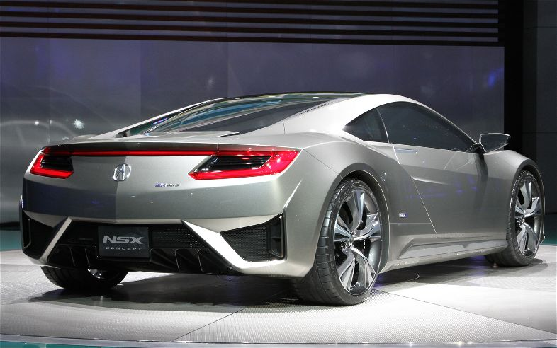 Spyder Spied? Acura NSX Roadster Sketches Found In Patent Filing ...