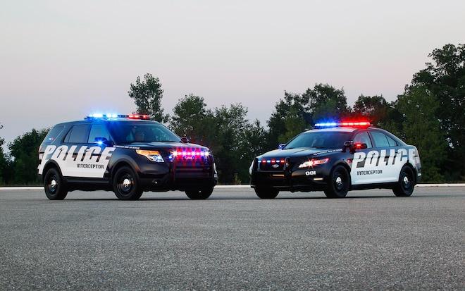 Ford's Police Interceptor V-6 Gets 18/26 MPG, More Power