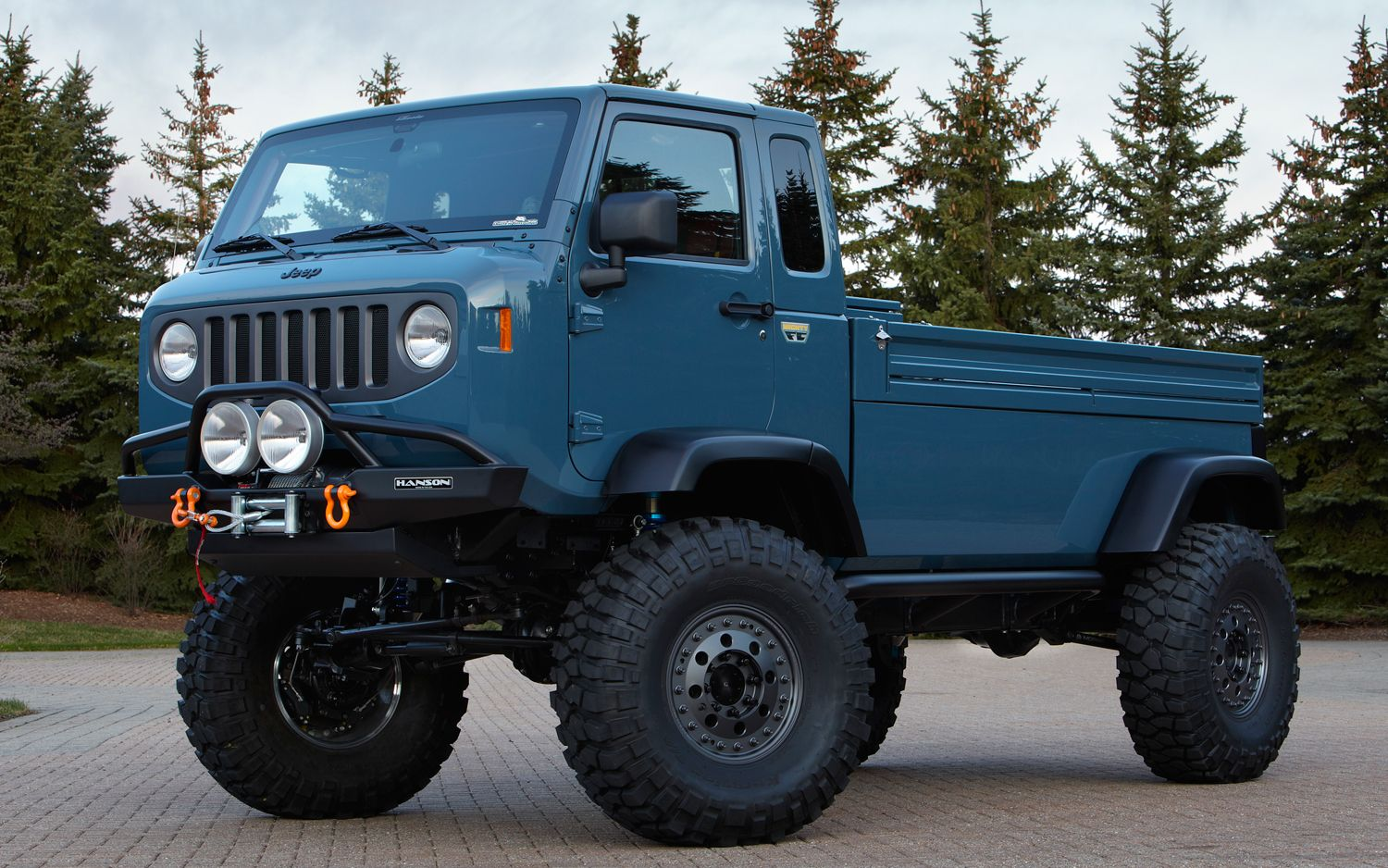 Jeep Mighty FC Concept Front1