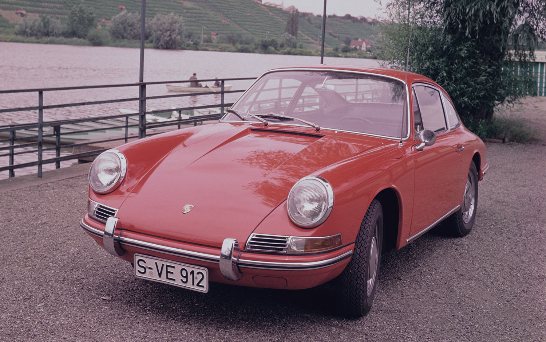 a08237517bb6 1966 Porsche 912 Front Three Quarters