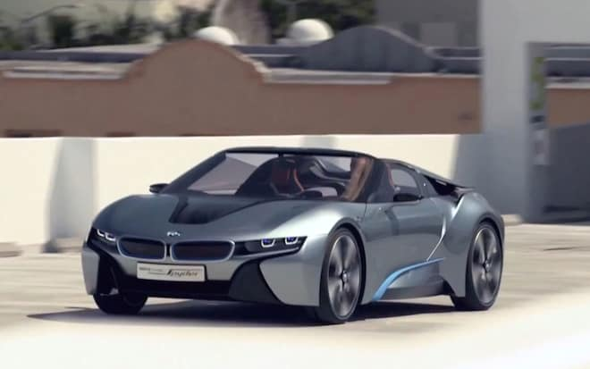 Feature Flick Bmw I8 Concept Spyder In Motion