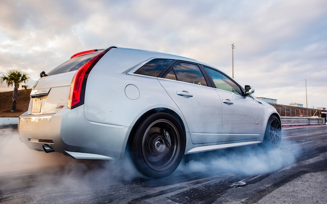 Cadillac CTS V Rear Right Side View1