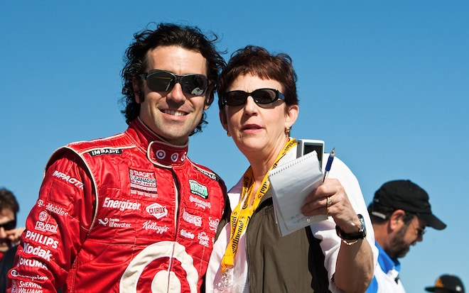 Dario Franchitti And Jean Jennings1