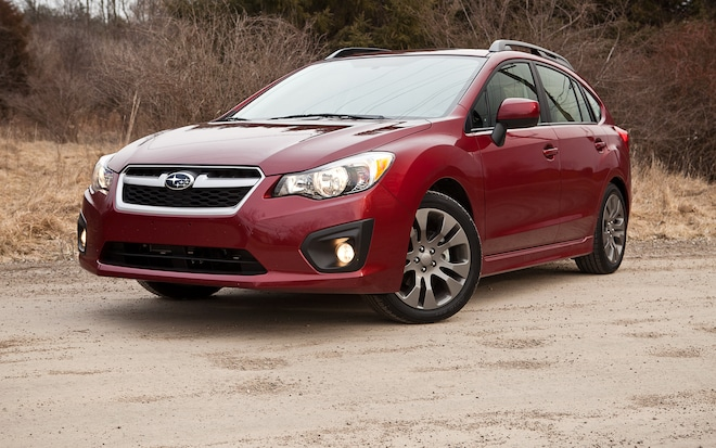 2012 Subaru Impreza 2 0i Sport Limited - Editors' Notebook