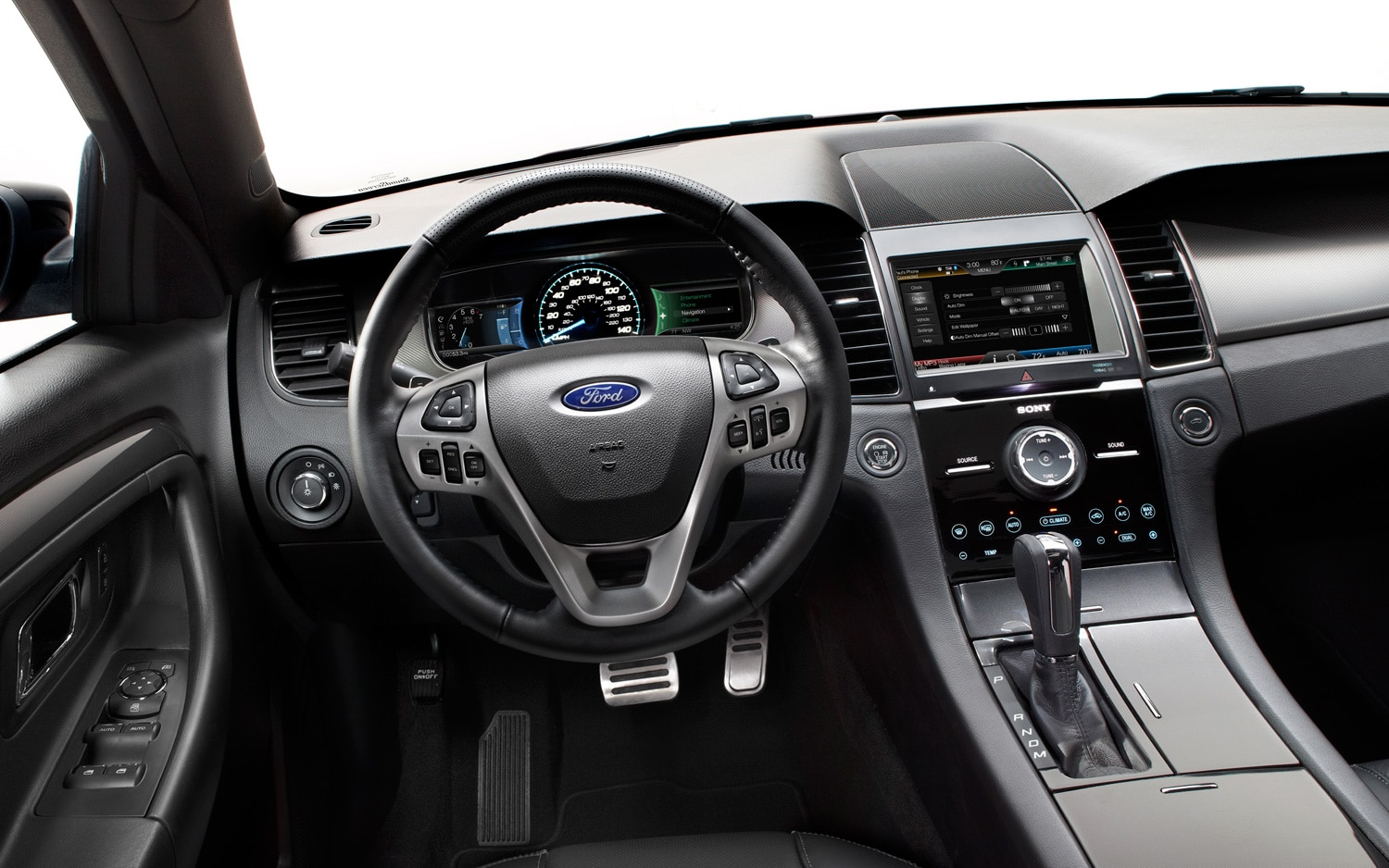 First Drive 2013 Ford Taurus Sho Performance Package Automobile