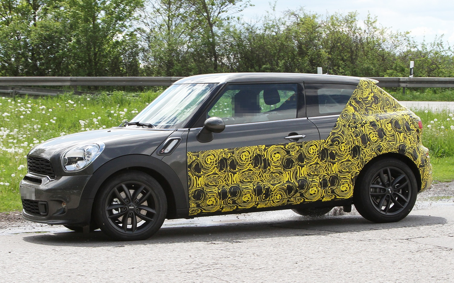 Caught Mini Countryman Coupe Hits The Road