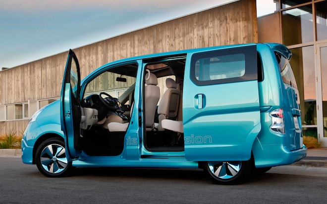 Nissan Confirms E Nv200 Electric Van For Production Will Be Sold In