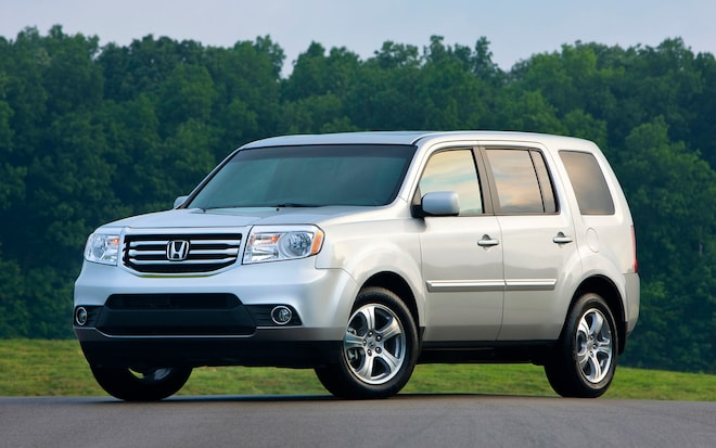 2012 Honda Pilot 4WD Touring - Editors' Notebook