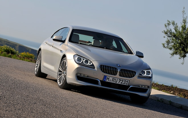 2013 BMW 640i Gran Coupe Front Right View1