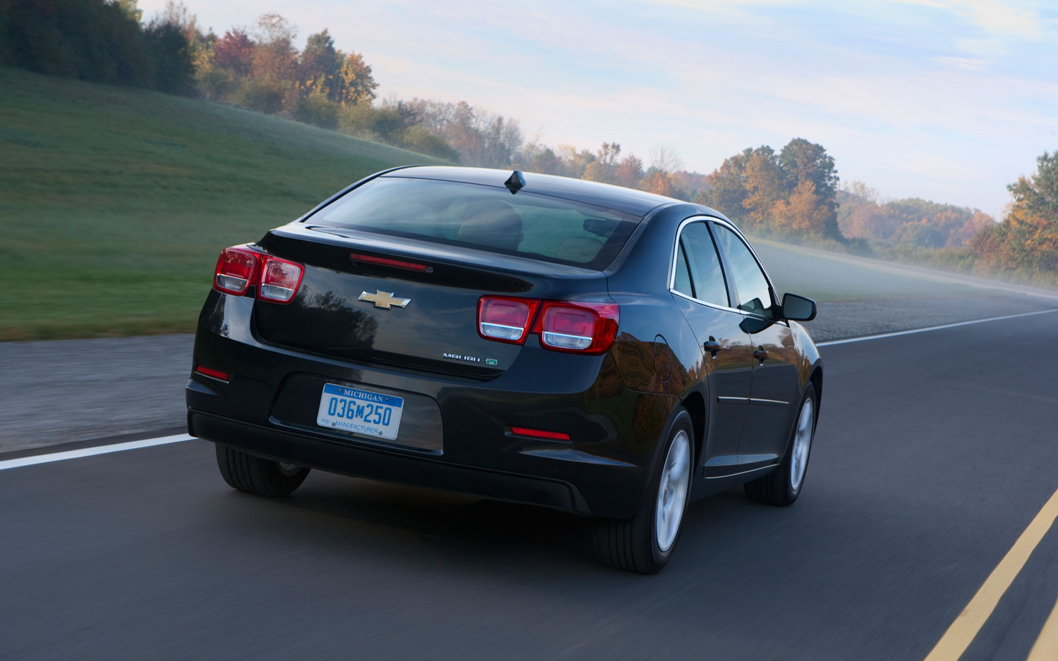 2013 Chevrolet Malibu I-4 Priced at $23,150; Turbo at $27,710