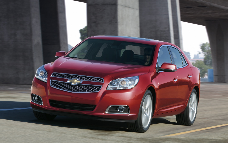 2013 Chevrolet Malibu I-4 Priced at $23,150; Turbo at $27,710