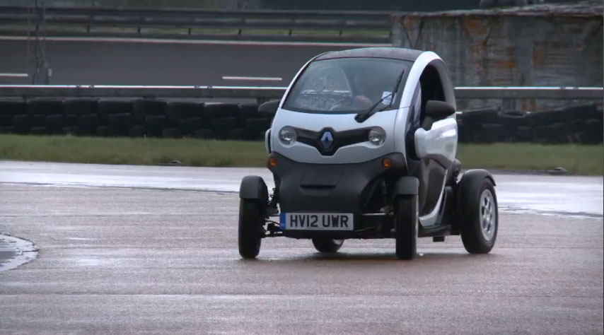 Feature Flick: Will the Renault Twizy Electric Car Drift?
