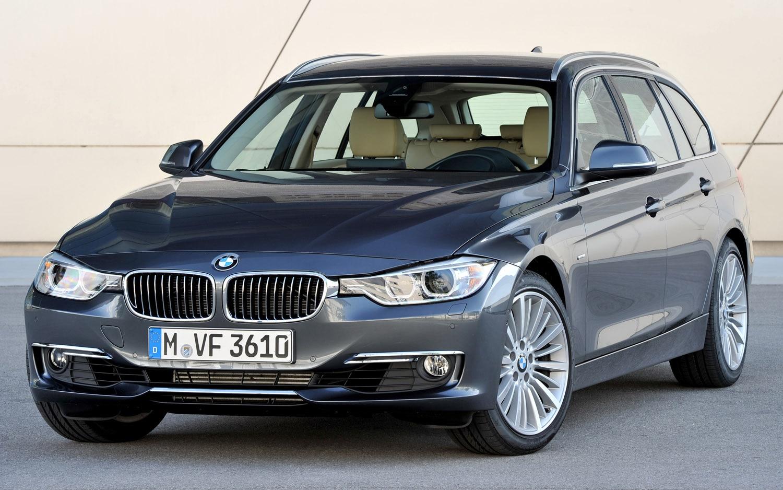 2012 BMW 3 Series Touring Front Three Quarter1