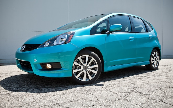 2012 Honda Fit Sport Editors Notebook Automobile Magazine