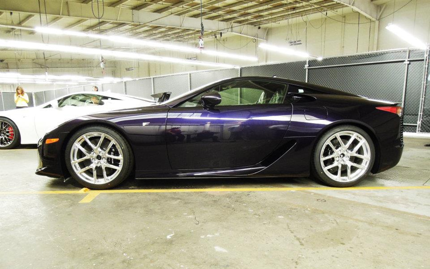 Lexus Reveals One Off Black Amethyst Lfa