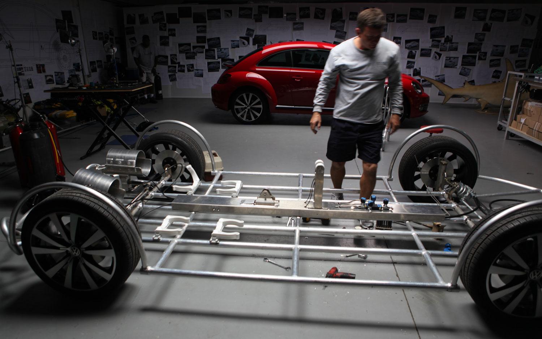 Say What? Volkswagen Preparing Shark Observation Cage Resembling 2012 Beetle