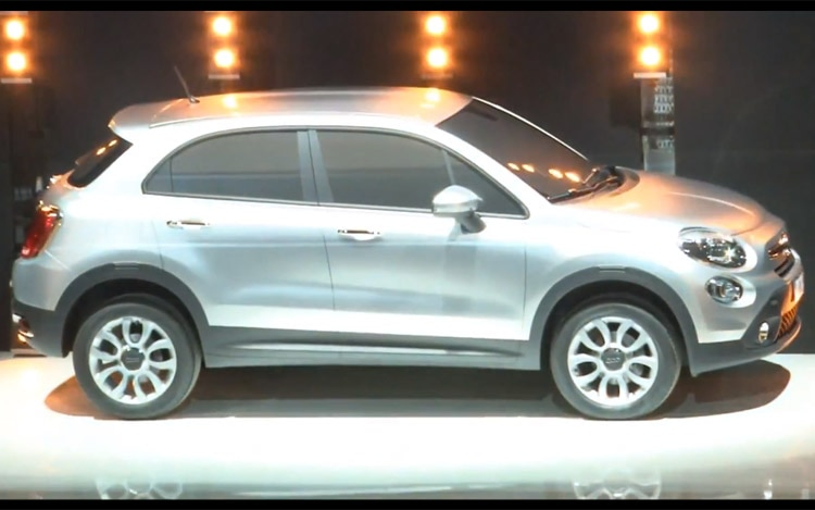 2013 Fiat 500X Teased Front Three Quarter1
