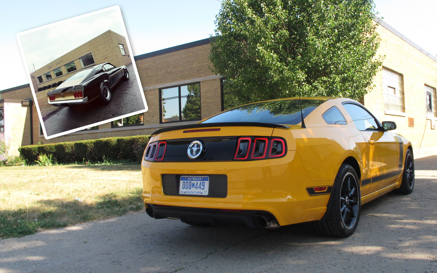 2013 Ford Mustang Boss 302 At Kar Kraft Facility Lead Image1