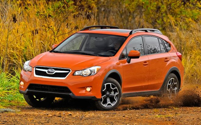 2013 Subaru XV Crosstrek Front Left View 31