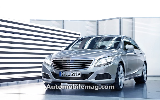 2014 Mercedes Benz S Class Front Three Quarter1