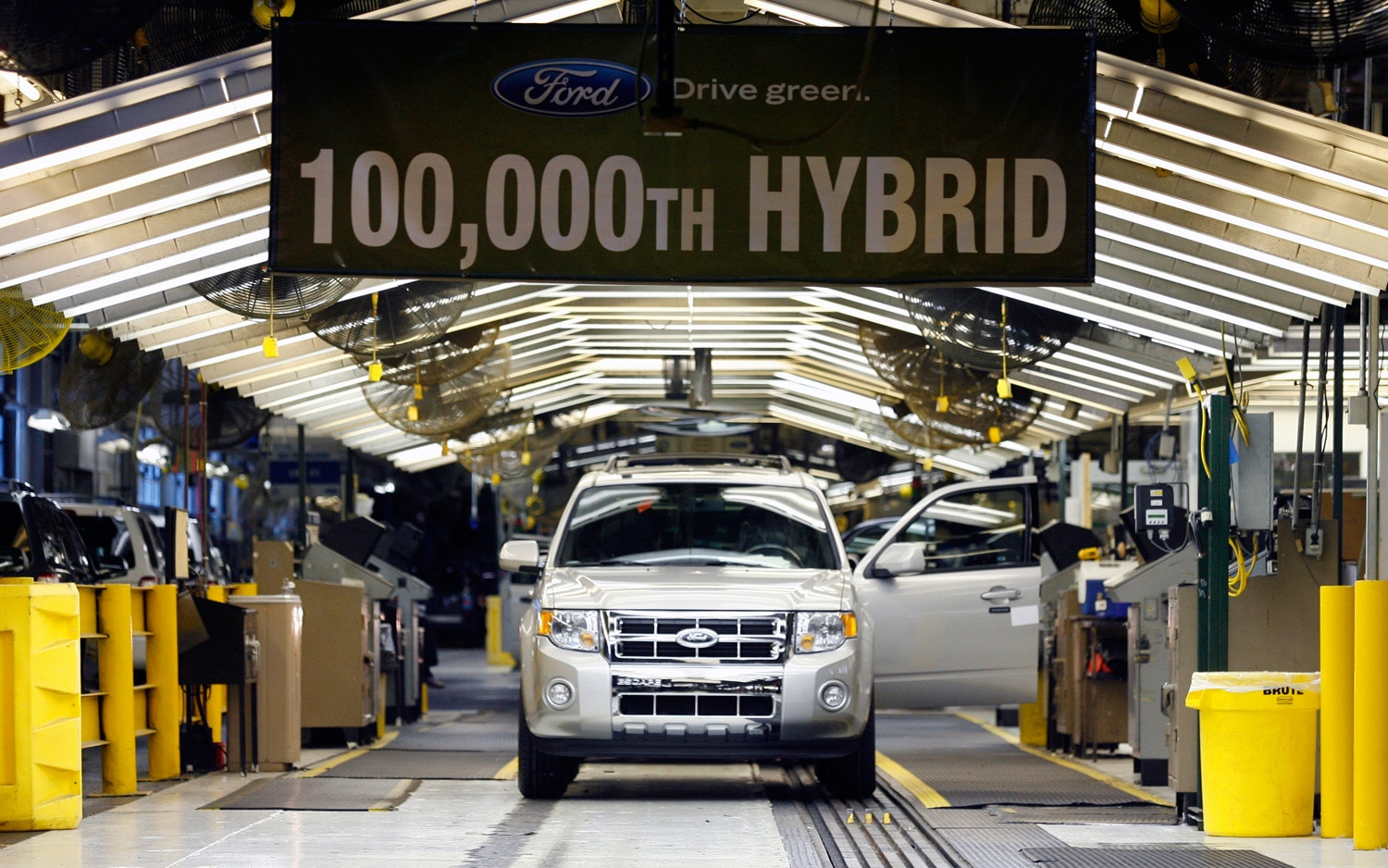 The 15 top producing american car plants for Plant city department of motor vehicles