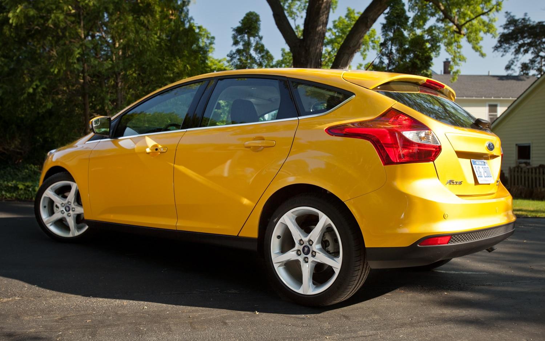 2012 Ford Focus Titanium 5 Door Editors Notebook Automobile