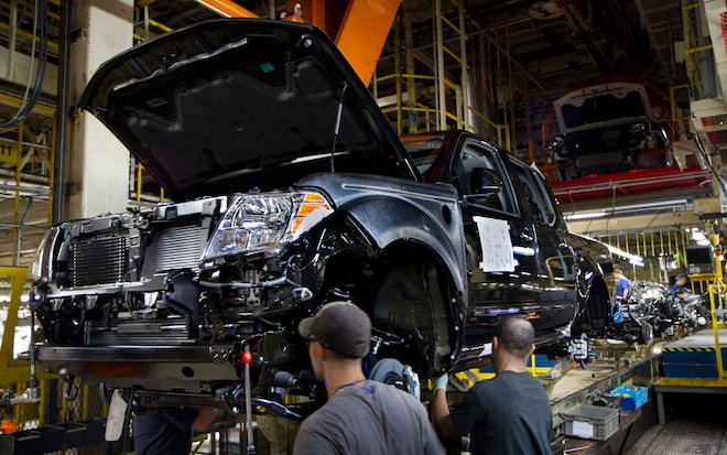 2012 Nissan Frontier Assembly Line1