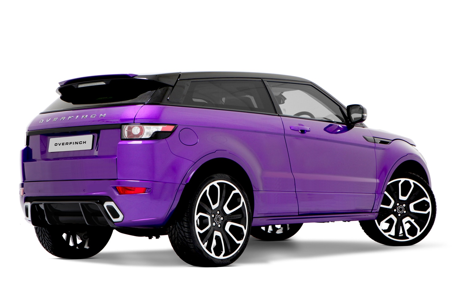 Technicolor Power Overfinch Upgrades Range Rover Sport
