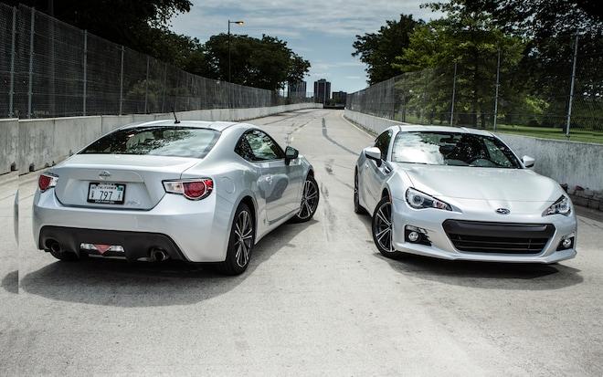 Scion FR S And Subaru BRZ