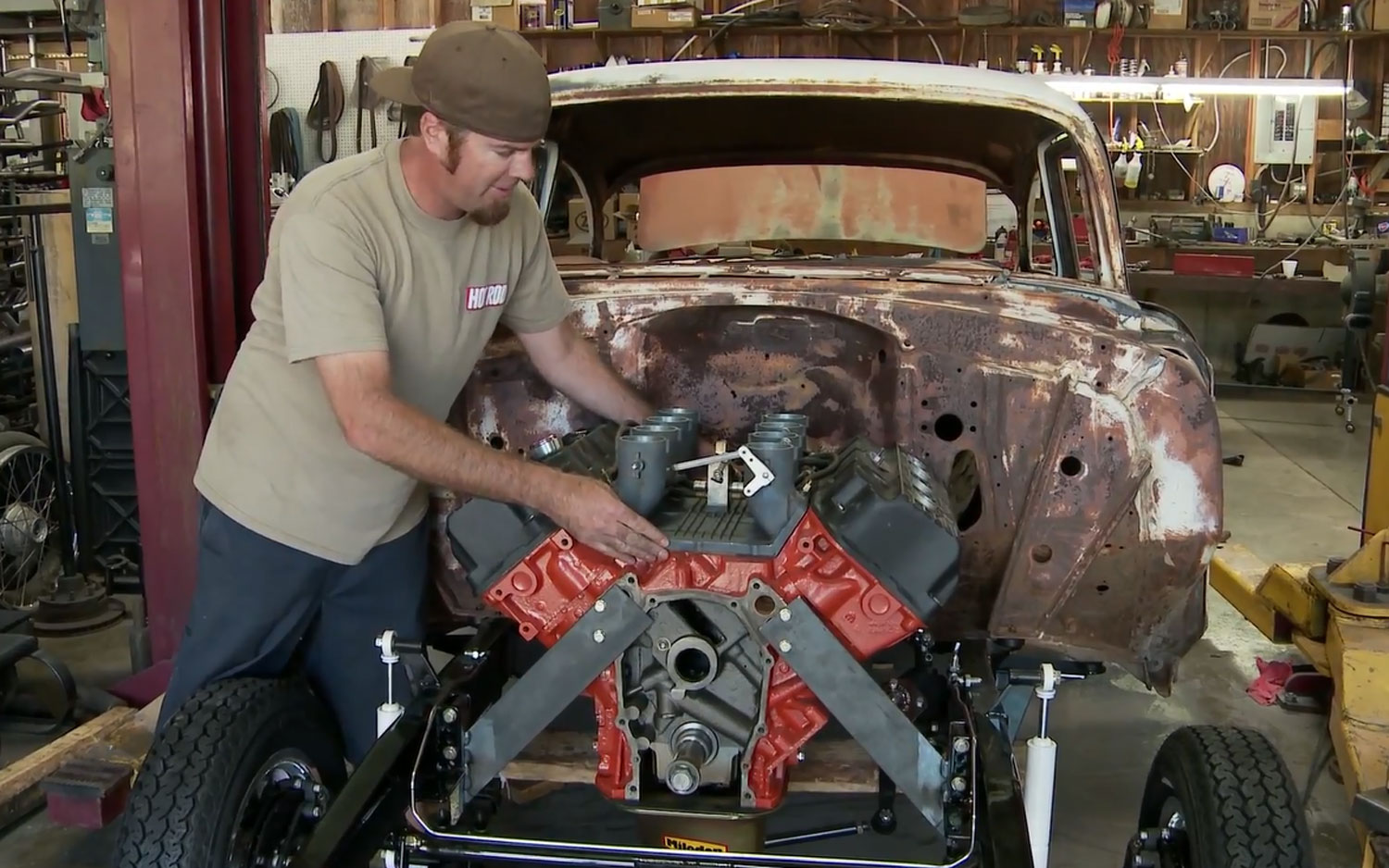 Hot Rod Heresy: Putting a 426 Hemi In A 1955 Chevy Bel Air ...
