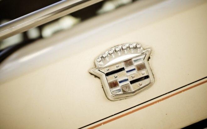 1986 Cadillac Cimarron V 6 badge
