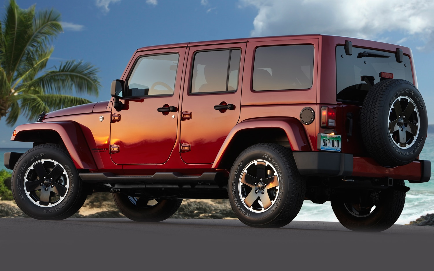 2012 Jeep Wrangler Unlimited Altitude Edition