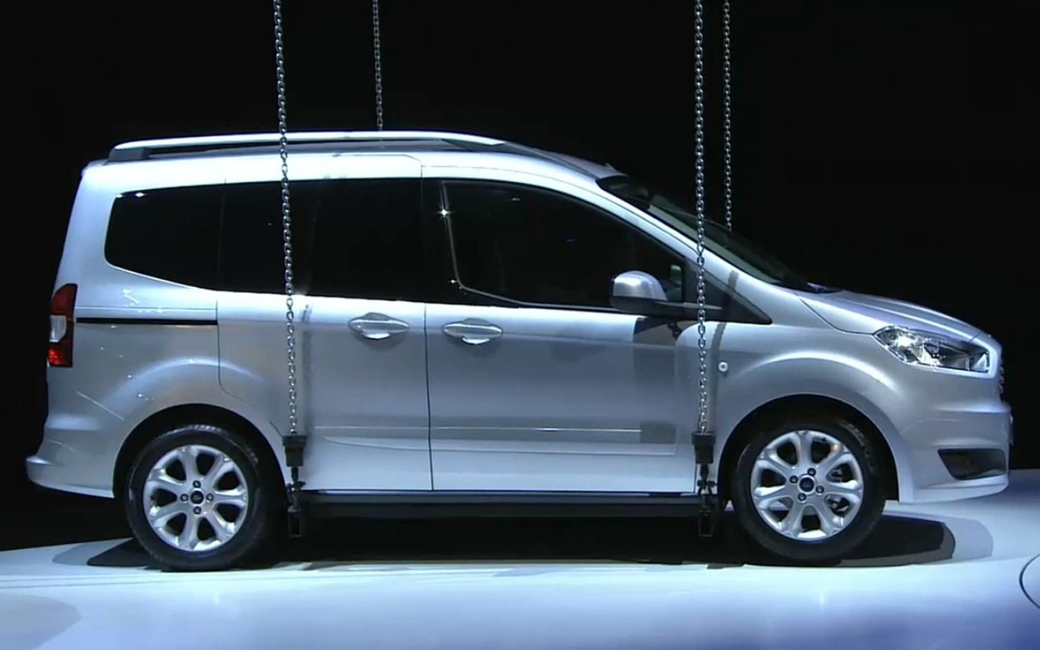 Ford Unveils All New 2014 Transit Transit Connect