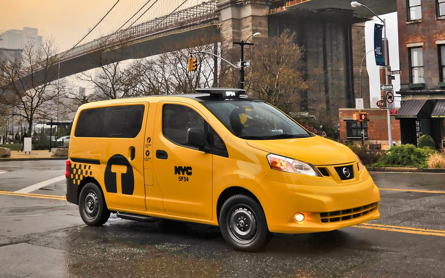 3aeaccd83c Nissan NV200 Officially Confirmed As New York City s New Taxi