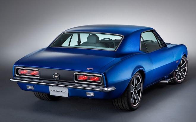 1967 Chevrolet Camaro Hot Wheels Concept Rear View11
