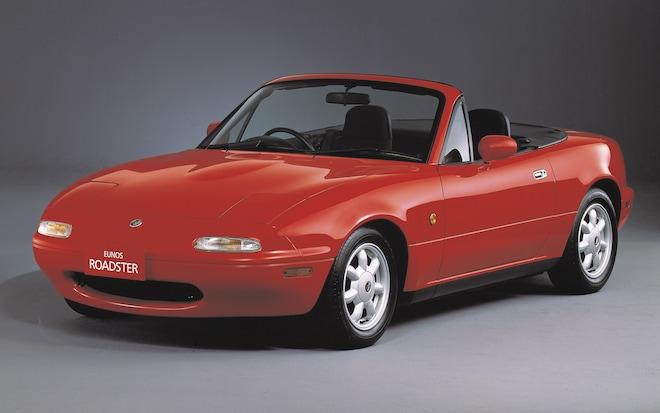 1990 Mazda MX 5 Miata Front View