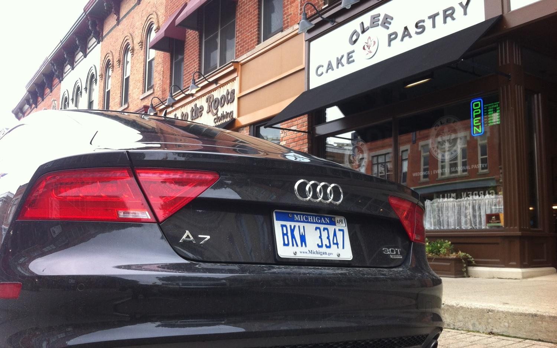 2012 Audi A7 Questioning The Big Wheels Automobile