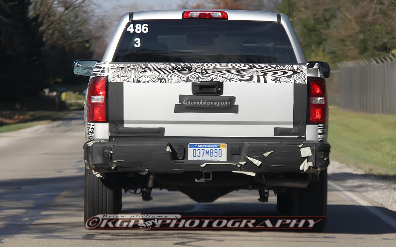 Spied 2014 Chevrolet Silverado And Gmc Sierra Pickup Trucks Tail Light Wiring Show More
