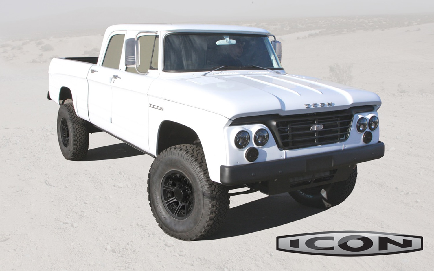 Icon Makes Old Dodge D200 New Again, One-Off Pickup Set to Debut at