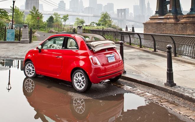 2012 Fiat 500C Pop Rear Three Quarters Promo