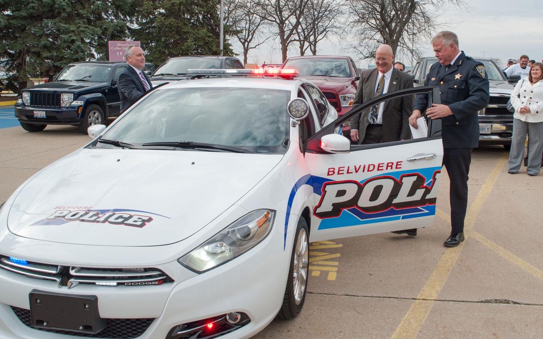 Belvidere Illinois Gets 2013 Dodge Dart Police Car 1964 Christian Seabaugh
